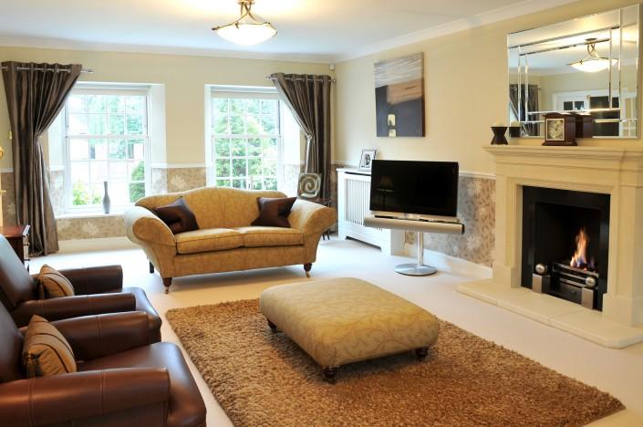 upholstered lounge
