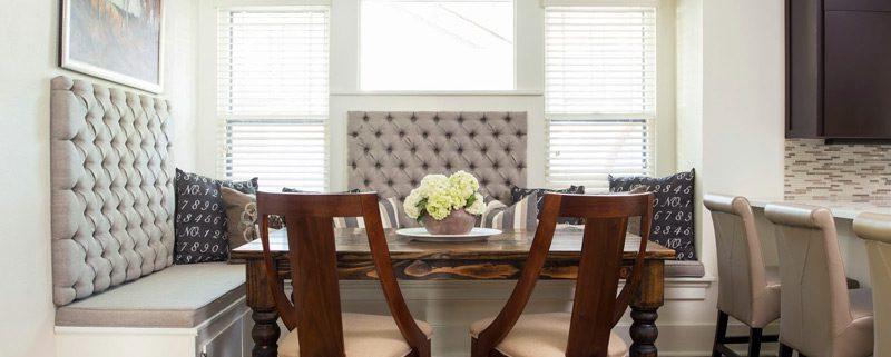 Kitchen Furniture with Upholstered Chairs